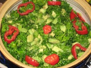 anti cancer kale salad