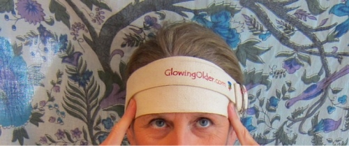 holistic health tip yoga strap head