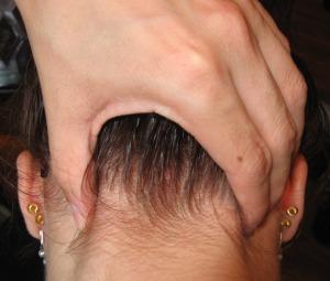 holistic help for headaches massage